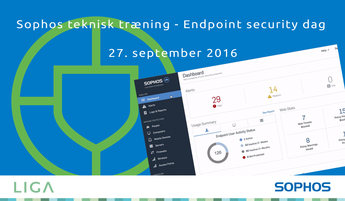 Sophos Endpoint security dag 27 september 2016