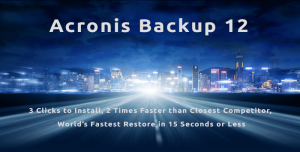 Acronis Backup 12 try free trial