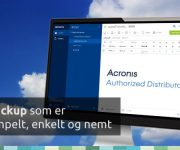 Bliv Acronis Managed Service Provider med Acronis Backup Cloud 12.