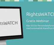 Gratis Webinar om RightsWatch