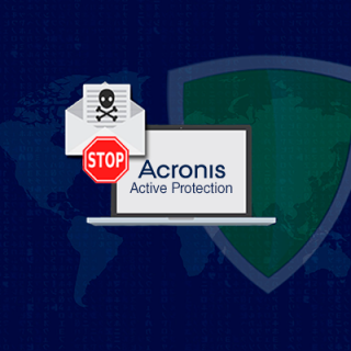 Acronis Active Protection mod Ransomware.