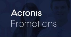 Acronis promotions