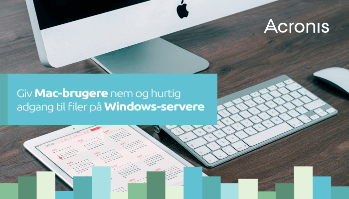 Mac-brugere på Windows-server med Acronis Files Connect