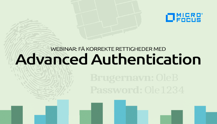 Webinar om Advanced Authentication med Micro Focus.