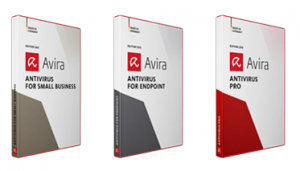 Avira products for businesses.