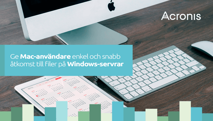 Acronis Files Connect sammankopplar Mac och Windows