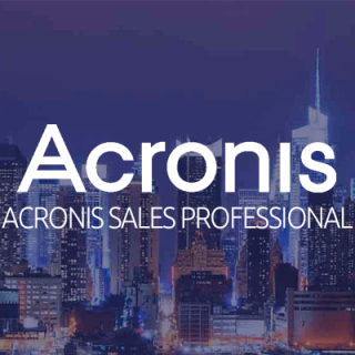 Acronis Sales Professional