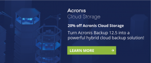 Acronis Cloud Storage - Liga