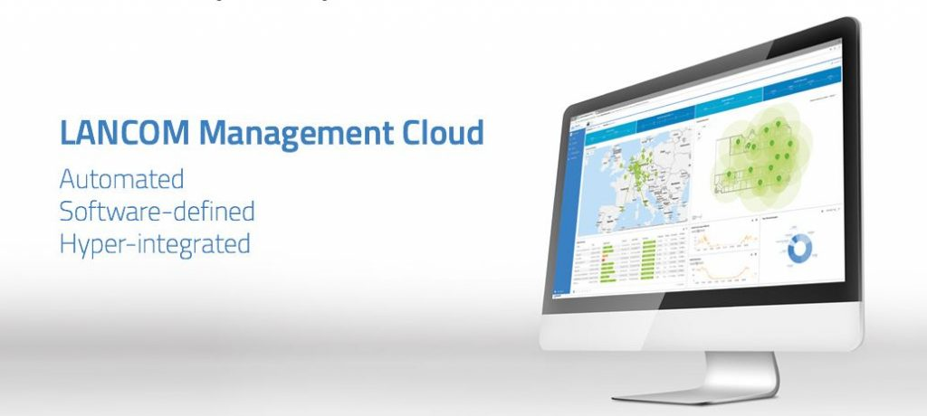 Lancom Management Cloud webinar.