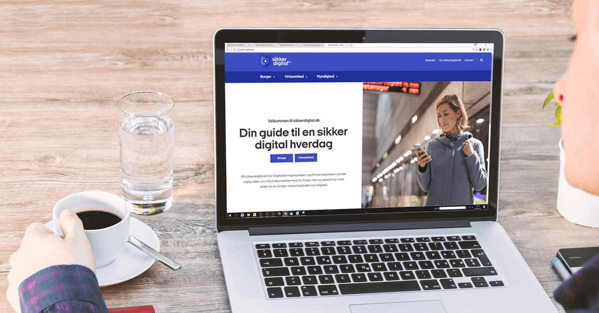 Sikker Digital Portal på PC.