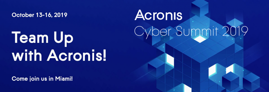 cyber summet Acronis