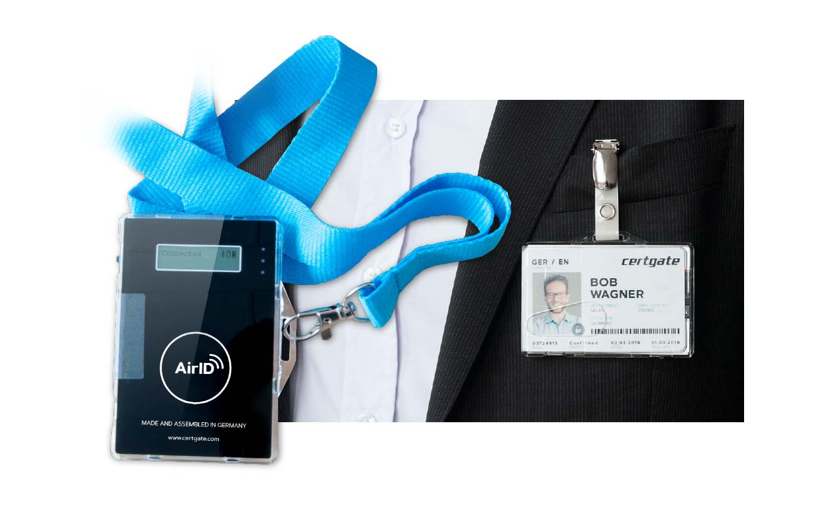 AirID med smart card.