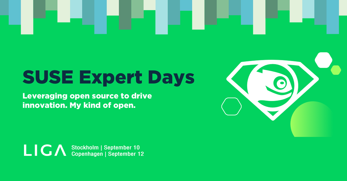 SUSE Expert Days 2019 in Copenhagen and Stockholm
