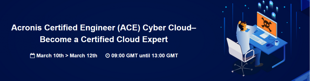 Acronis Certified Enginner  cyber cloud