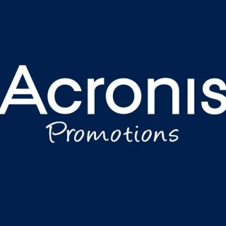 Acronis promotions.