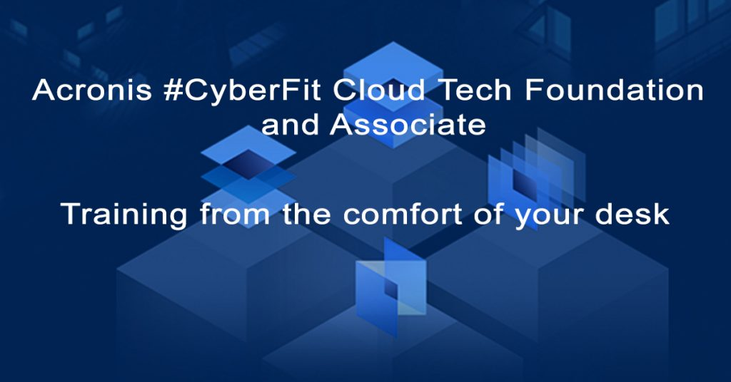 Acronis CyberFit Cloud training