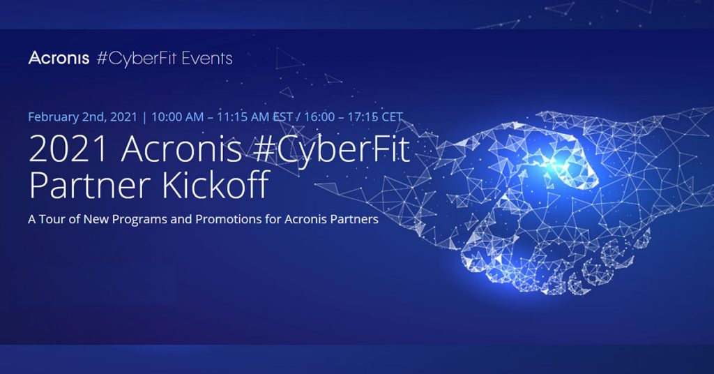 Acronis cyberFit partner kickoff