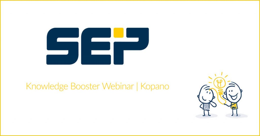 SEP - Knowledge booster -Kopano 2