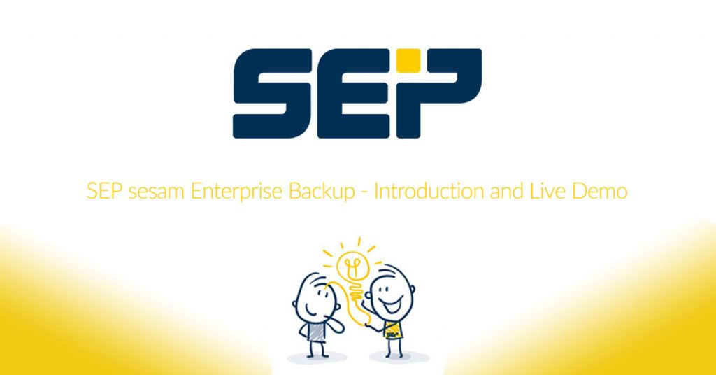 SEP sesam - Introduction and Live demo